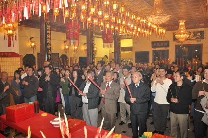 Chinese New Year at Thien Hau Temple